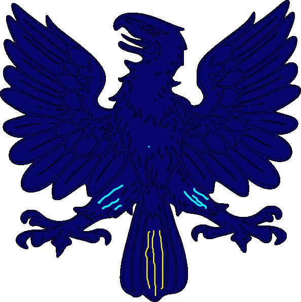 594x596 Marked Hawk Clip Art