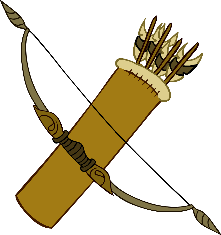 900x955 Hawkeye Bow And Arrow Clipart Collection