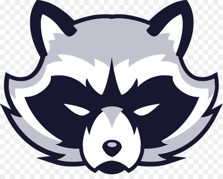 900x720 Raccoon Logo Clip Art