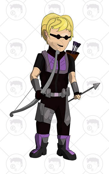 364x580 Avengers Character Hawkeye Clipart N Vector Lt Artogami