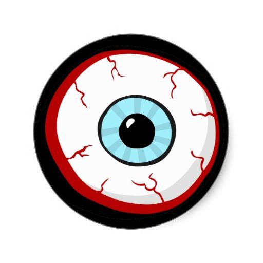 512x512 Bloodshot Eyes Clipart