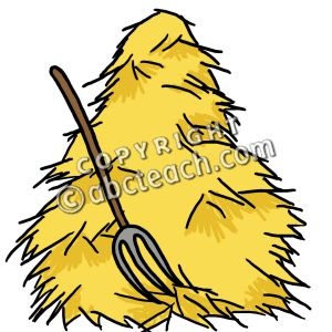 Hay Bale Clipart
