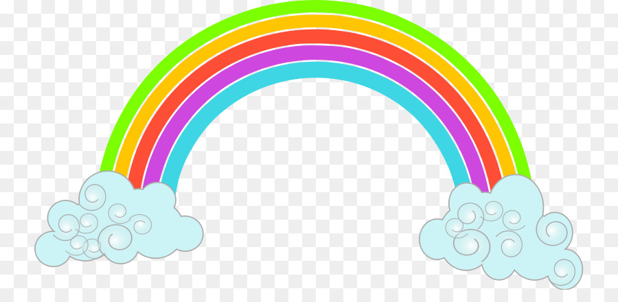 900x440 Rainbow Scalable Vector Graphics Cloud Clip Art