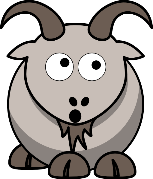 510x599 Goats Head Clipart Animated
