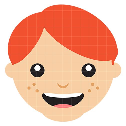 504x504 Head Clipart Boy Face