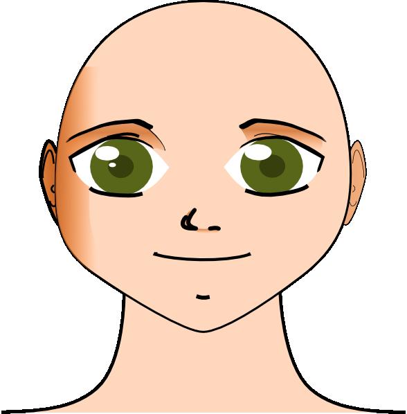 588x598 Samson Head Clip Art