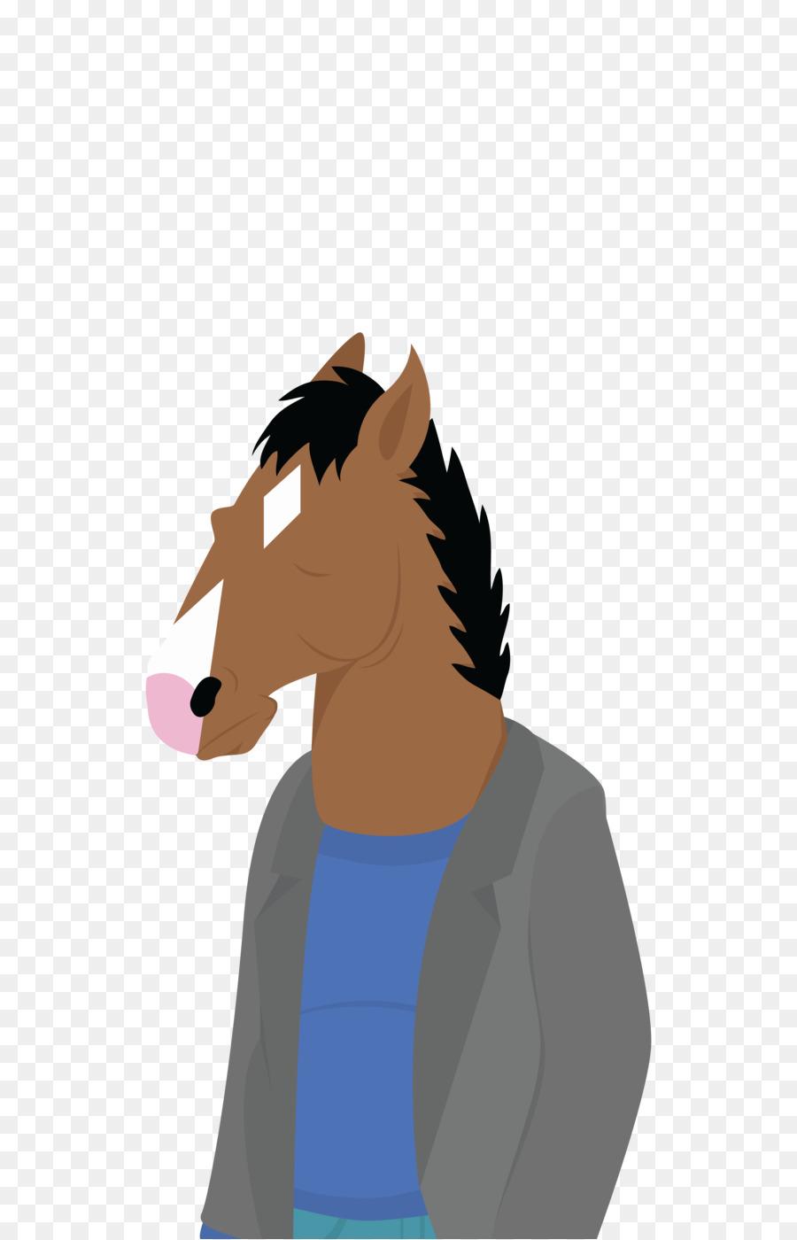 900x1400 Horse Netflix Pony Fan Art