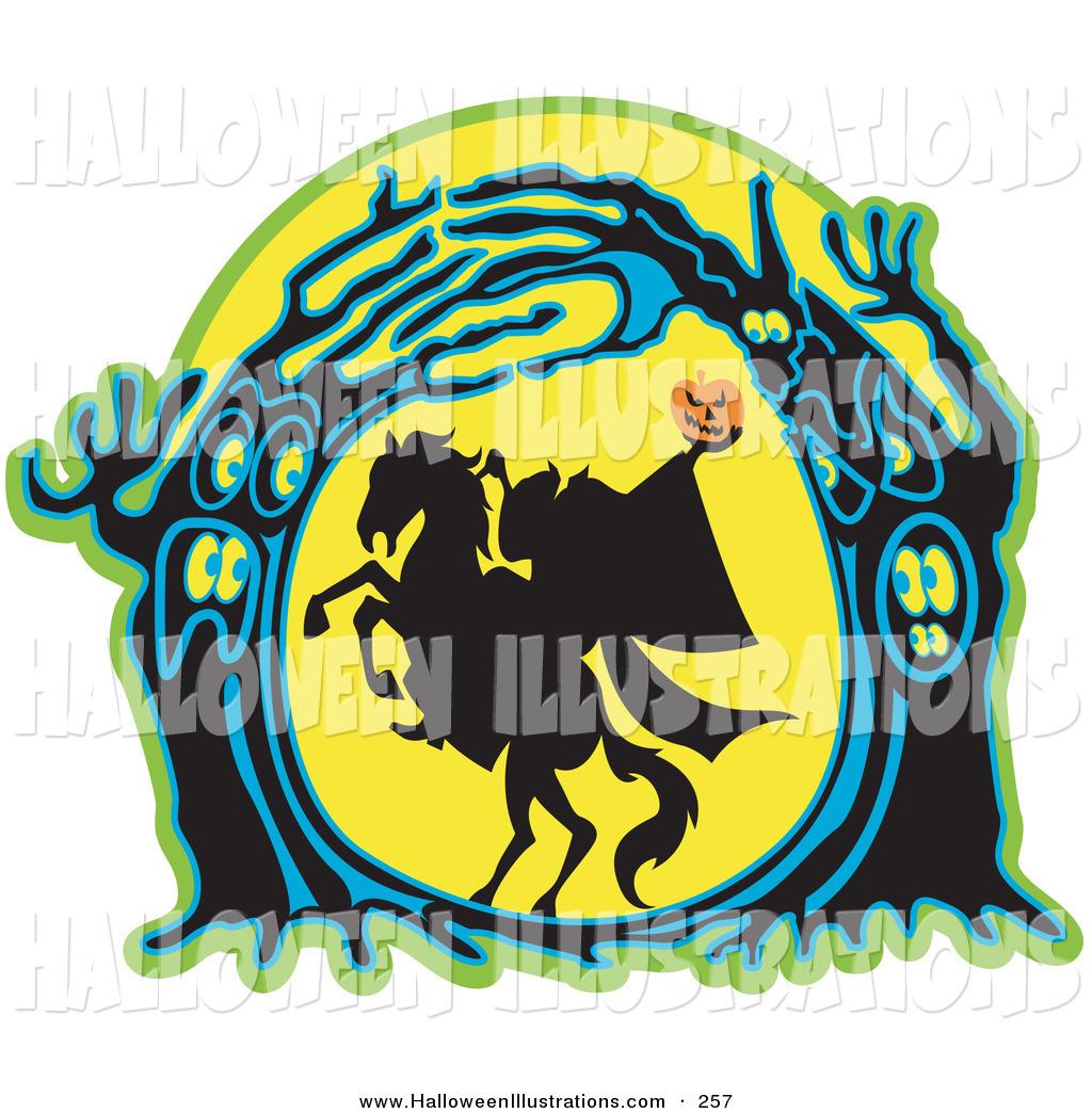1024x1044 Halloween Clip Art Of A Headless Horseman Holding His Halloween