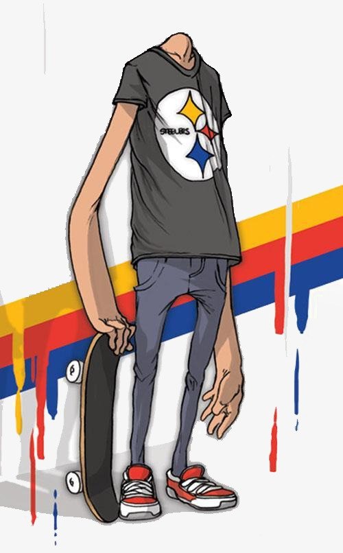 500x806 Headless, Us Man, American Comics Png Image And Clipart For Free