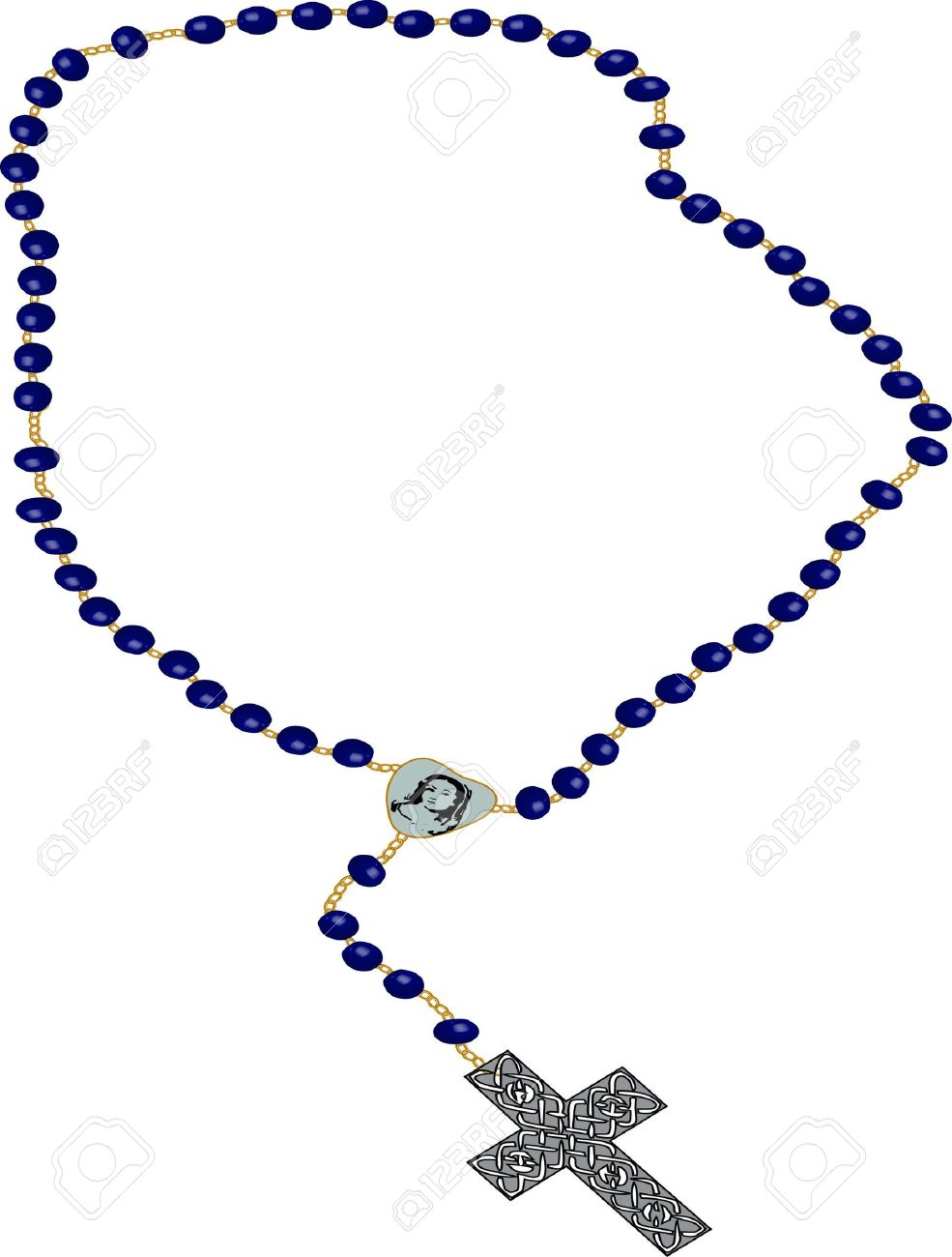 985x1300 Free Catholic Clipart Of The Rosary Beads