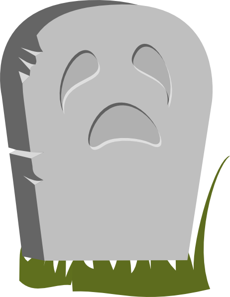 462x596 Headstone Clip Art
