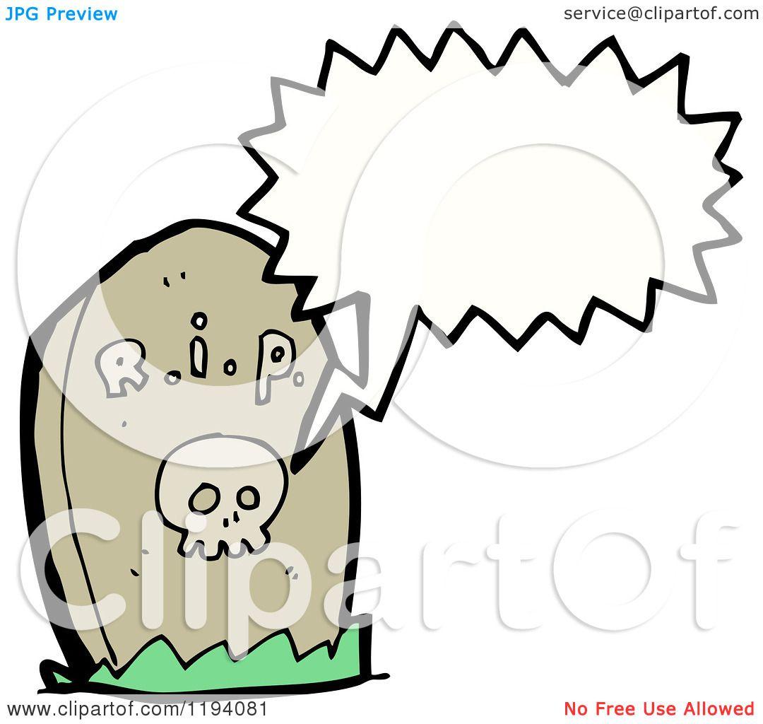 1080x1024 Cartoon of a Headstone Speaking