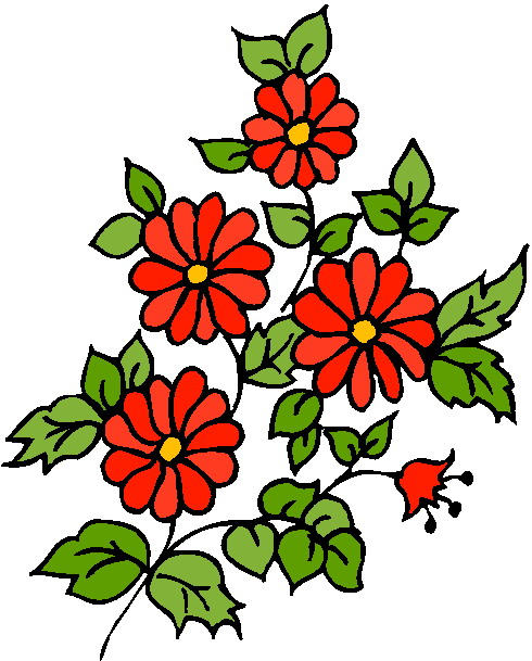 490x609 Flowers Clip Art Flowers And Plants