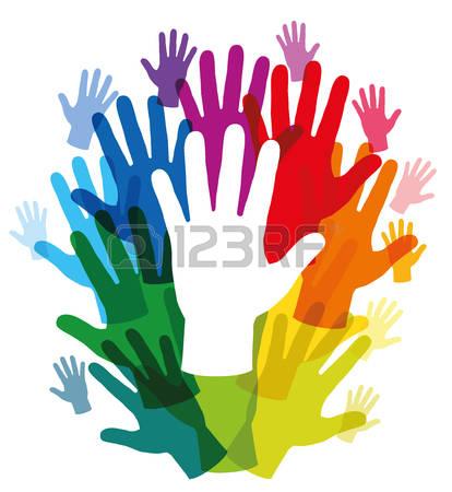 414x450 Healing Hands Clipart