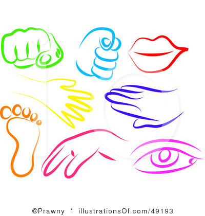 400x420 Body Parts Clipart