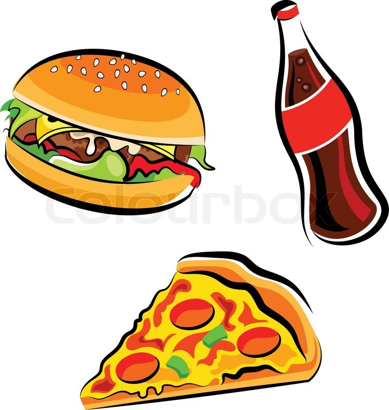 758x800 Collection Of Healthy And Junk Food Clipart High Quality