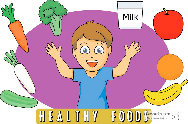 756x500 Healthy Eating Clipart