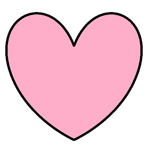 520x510 Pink Valentine Hearts Clip Art Pink Heart Clipart 8976showing