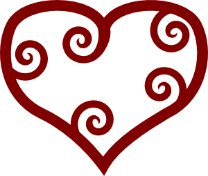 300x255 10 Valentine Printable Free Clipart Hearts Cartoons And Coloring