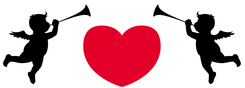 2664x957 Valentines Day Cupid Clip Art Valentine's Day Info