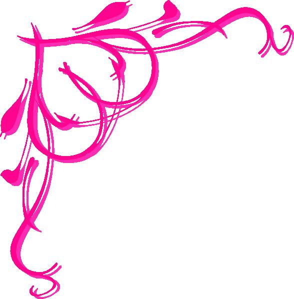 588x598 Pink Heart Border Clip Art Clipart Panda