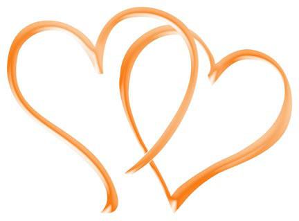432x319 Wedding Heart Design Clipart
