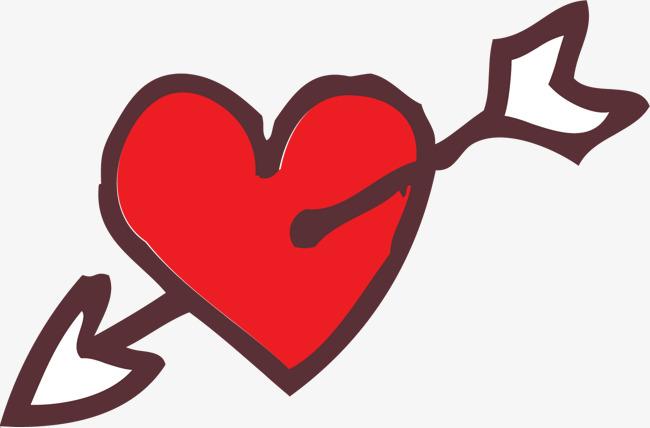 650x428 Painted An Arrow Through The Heart., Hand, Gules, Vector Diagram