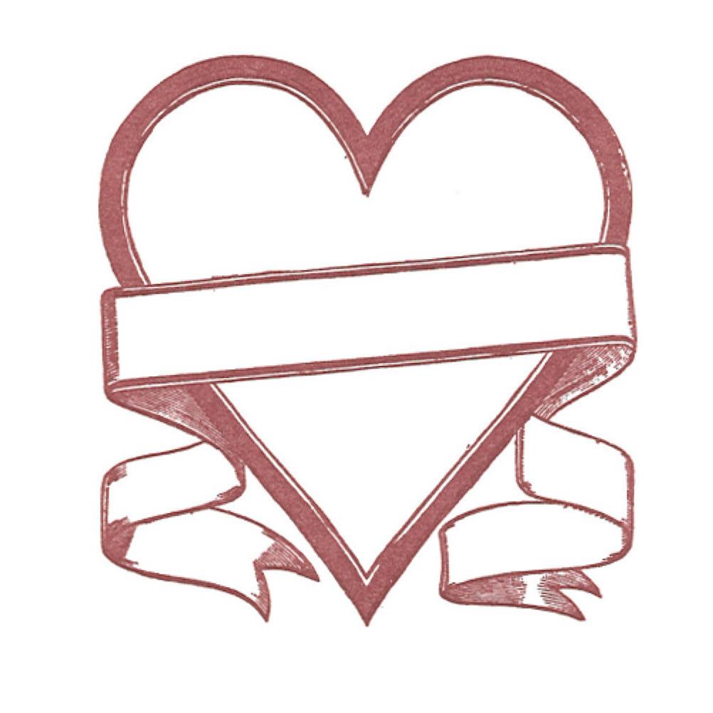 1002x1002 Valentine's Day Clip Art And Labels Martha Stewart