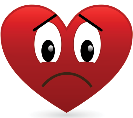 450x400 Frowny Face Heart Face, Smiley And Smileys