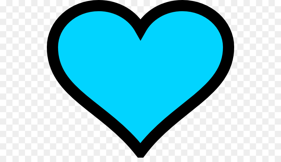 900x520 Turquoise Heart Emoji Blue Clip Art