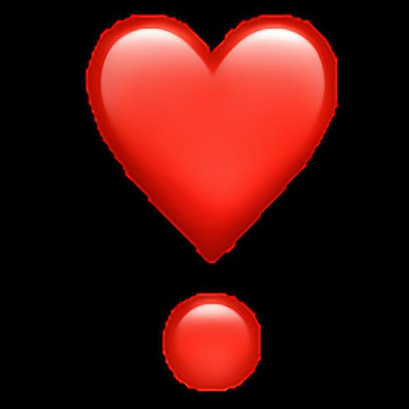 576x576 Wut Hart Is Dis Heartemoji Heart Emoji