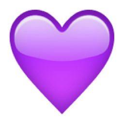 256x256 Blue Heart Heart Emoji, Emoji Stickers And Emoji