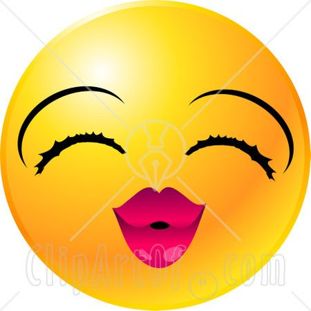 450x450 Emotion Clip Art 22134 Clipart Illustration Of A Yellow Emoticon