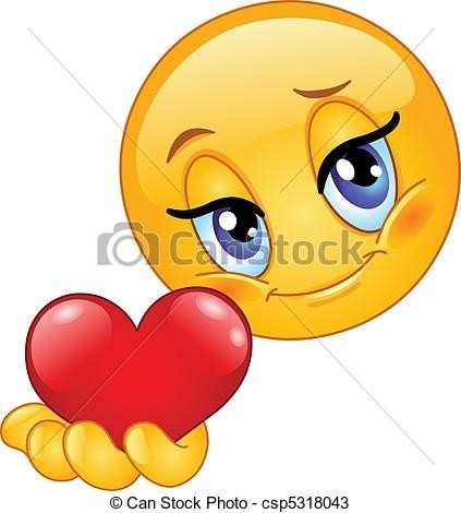423x470 Heart Smiley Faces Clip Art Examples And Forms