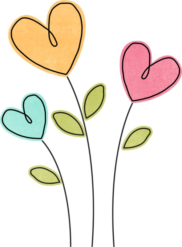 Heart Flower Clipart