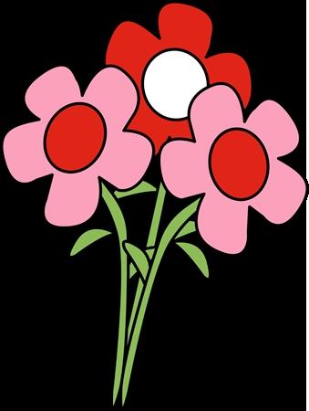 339x450 Flower Clipart Art Valentine Flowers Clip Art Floral Clipart