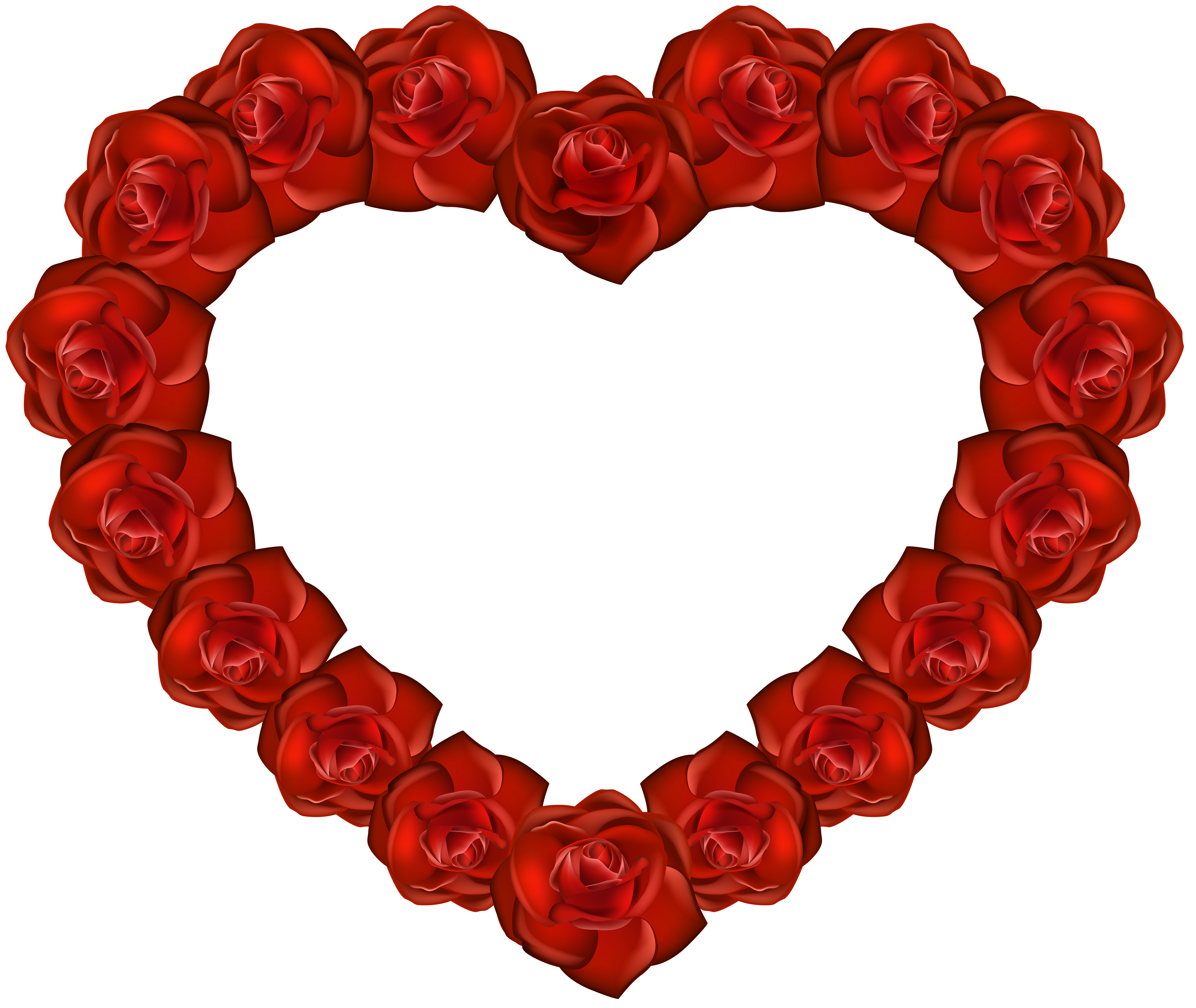 6000x5059 Rose Heart PNG Transparent Clip Artu200b Gallery Yopriceville