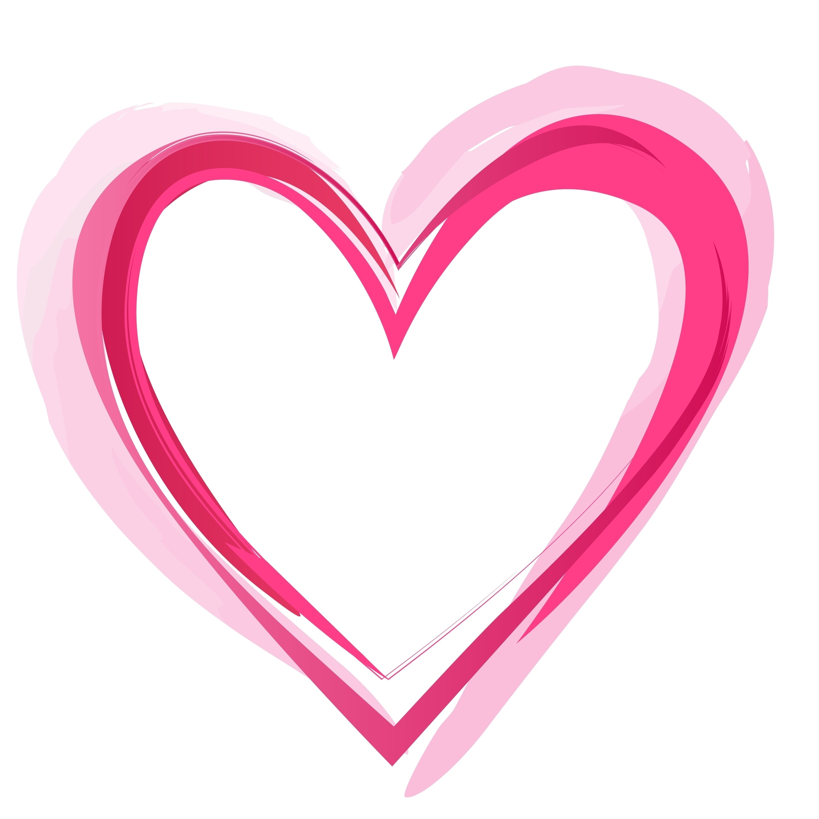 2850x2850 Best Of Drawn Heart Clipart