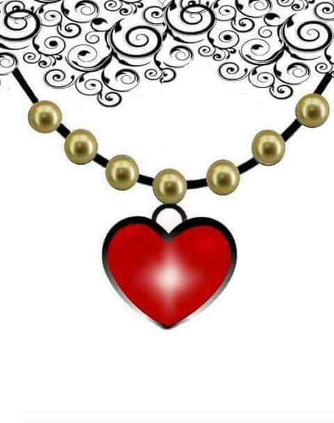 Heart Locket Clipart