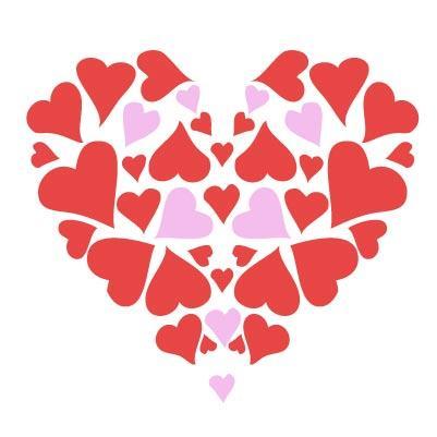 401x401 Hearts Valentine Cliparts