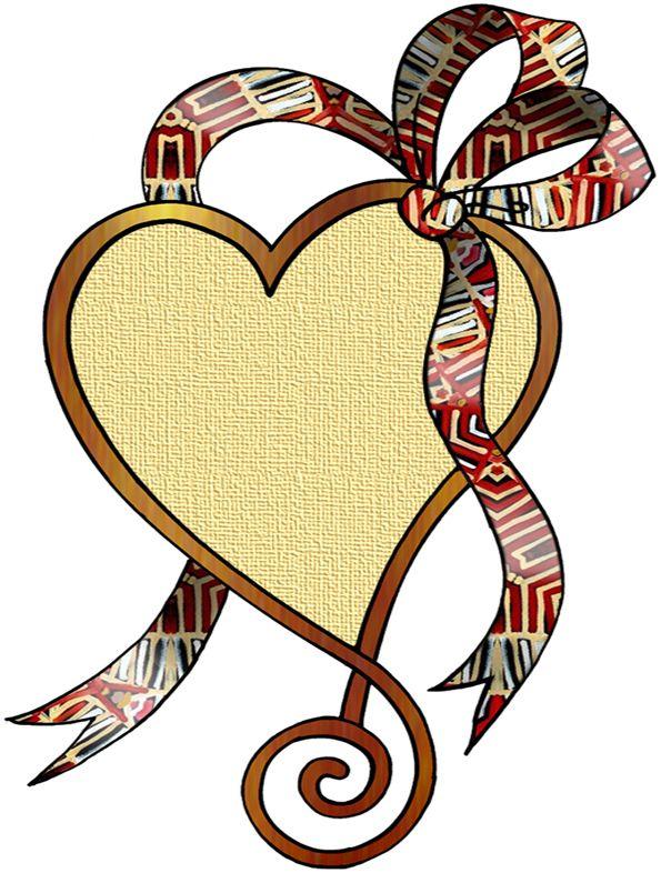 595x786 Artbyjean Clipart Hearts Love Hearts
