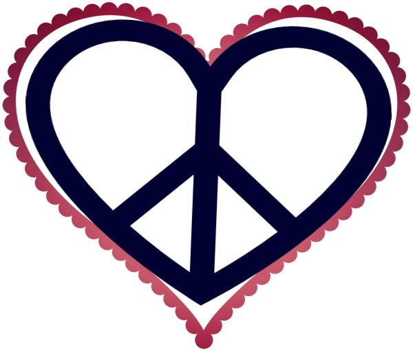 600x511 506 Best Peace In Hearts Images