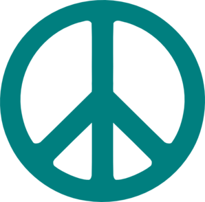 298x294 Peace Sign Clip Art