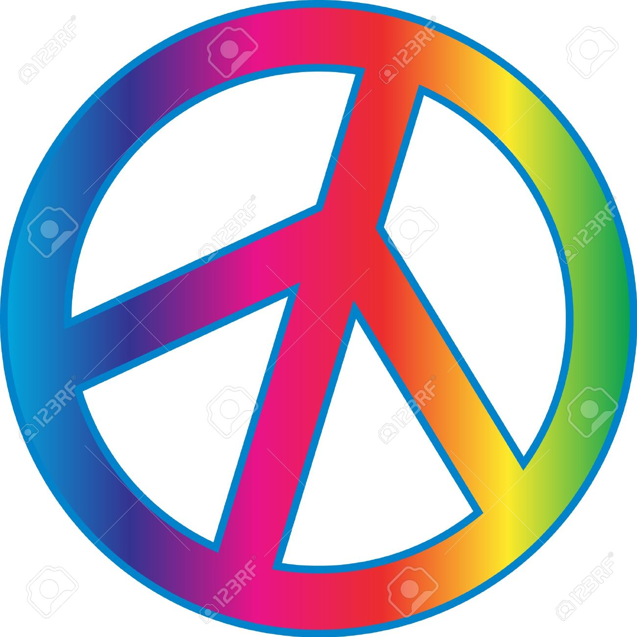 1300x1300 Peace Sign Clipart Tye Dye