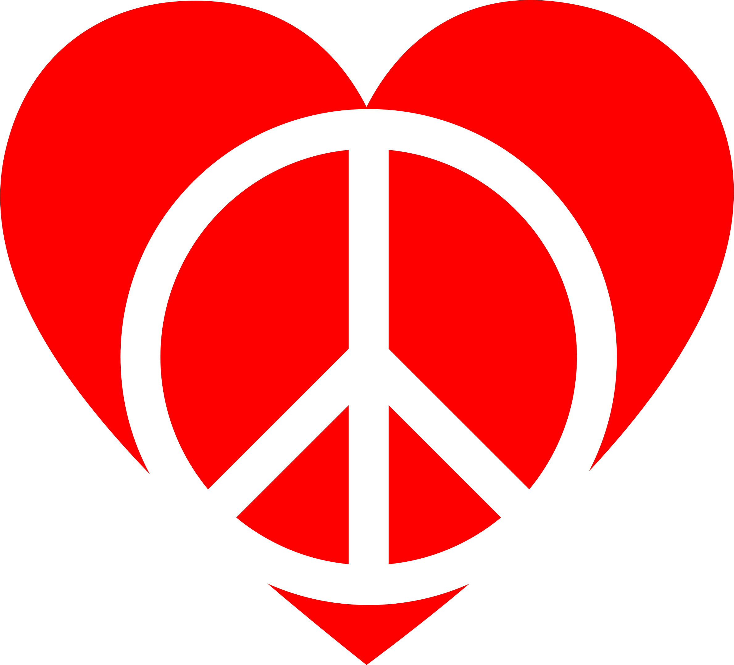 2378x2156 Red Peace Heart Icons Png
