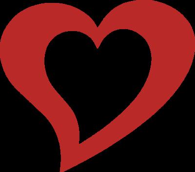 400x354 Heart Shape Clipart Clipart Heart Shape Clipart Panda Free Clipart