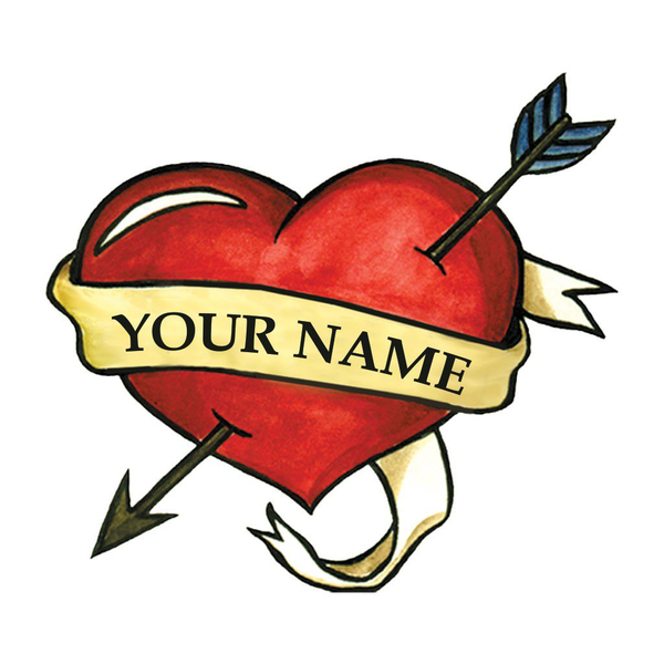 600x600 Free Heart Tattoo Clipart Free Images