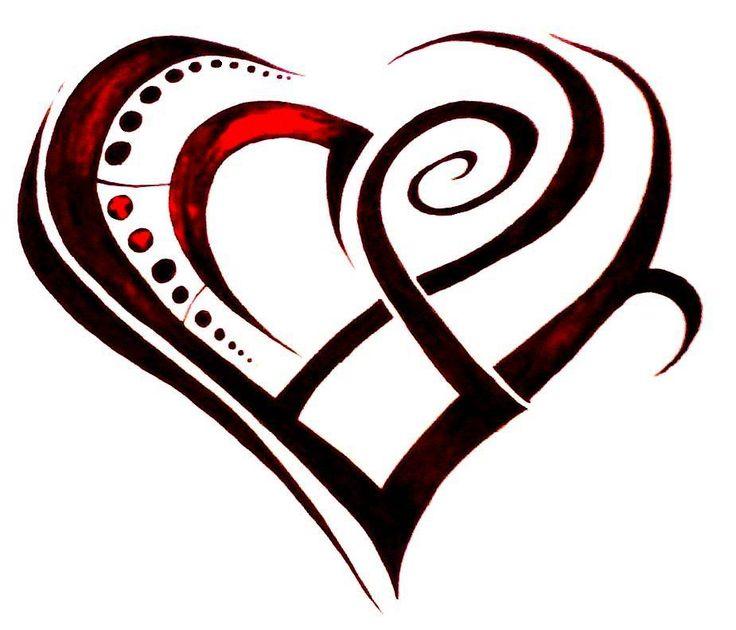 736x630 Heart Tattoos Clipart Stencil Small