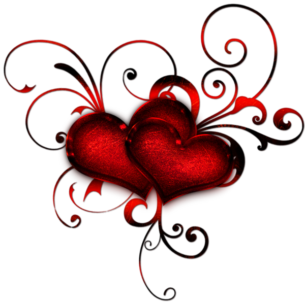 600x597 Red Heart Deacoration Png Clipart Clip Art Tattoo