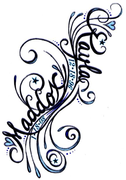 432x618 Tattoo Clipart Side